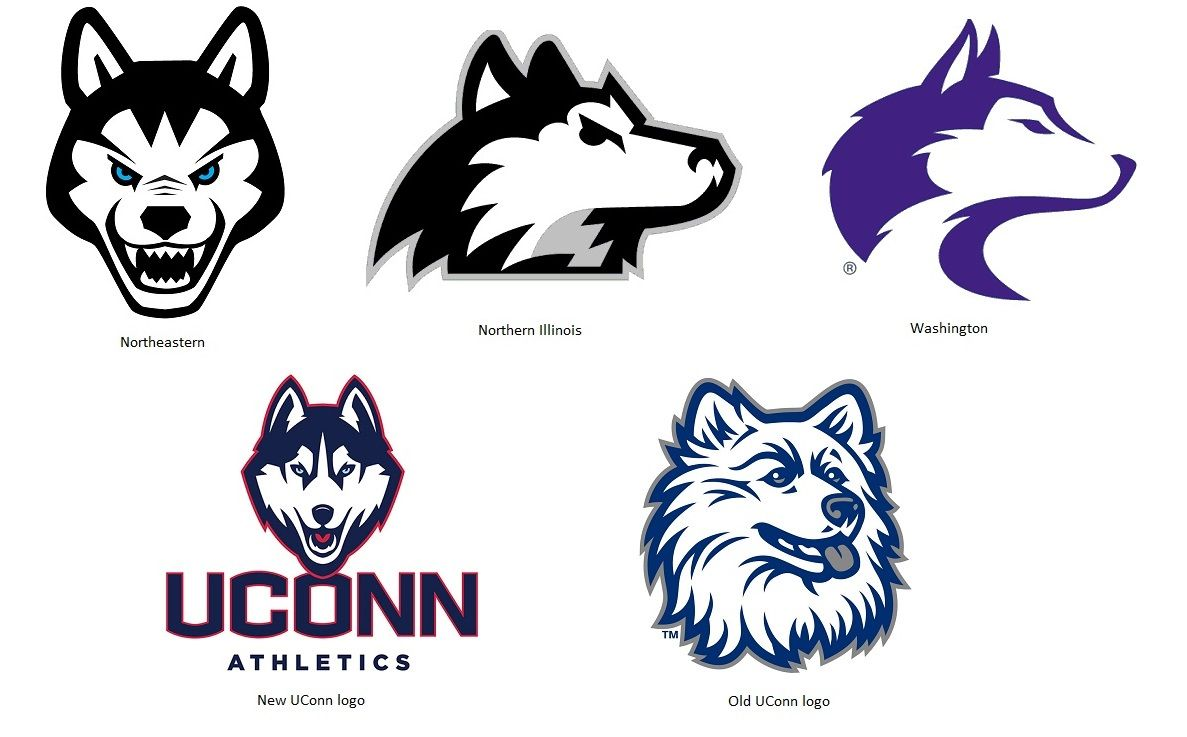 husky university mascots logo collage missing bloomsburg