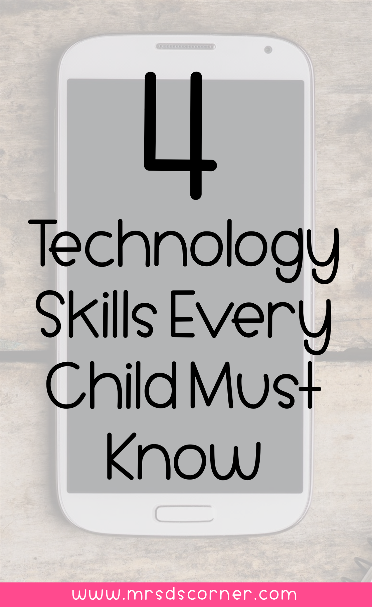 4 Technology Skills To Teach Kids With Special Needs Mrs D S Corner Technology Skills Computer Skills Students Tech