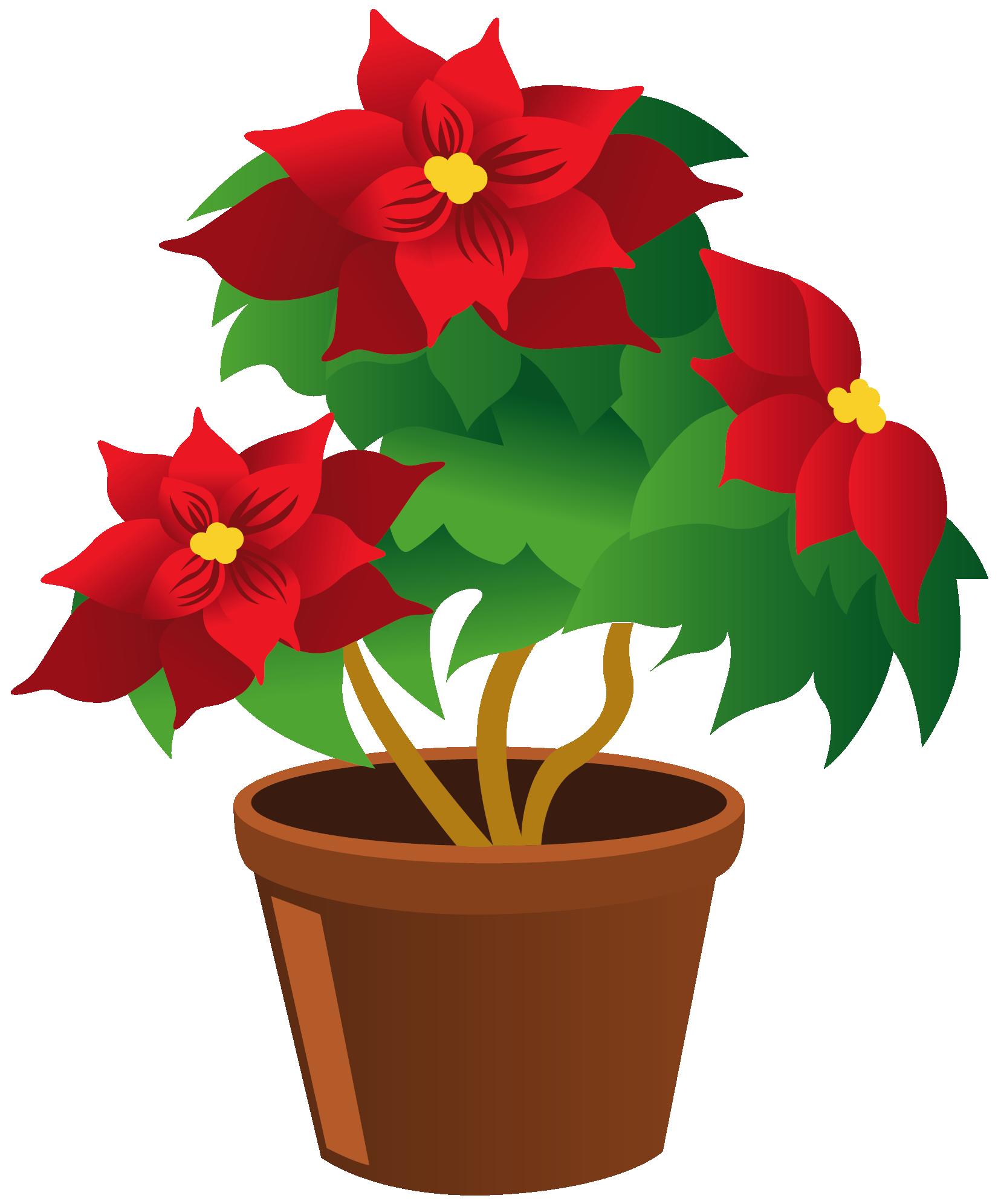 Flowering Plant Clipart Google Da Ara Clip Art Flower Clipart Flower Pots