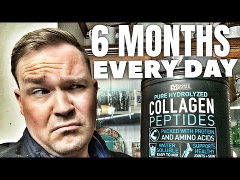 Collagen Peptides Sports Research Honest Review Six Months