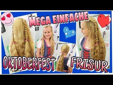 oktoberfest frisur   frisuren für girls   pinterest