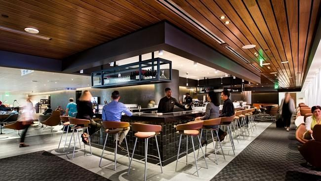 Qantas Increases Luxury Los Angeles Lounge Business Class Lounge Lounge Luxury