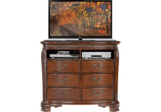 picture of Cortinella Cherry Media Chest from Chests ...