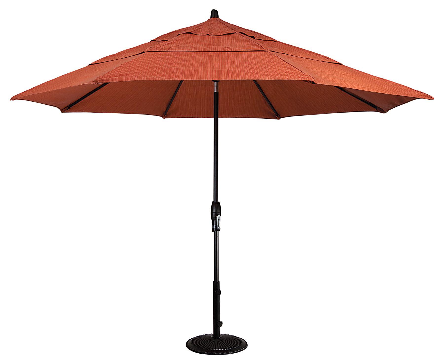 UM8129 11u0027 Auto Tilt Umbrella By Treasure Garden