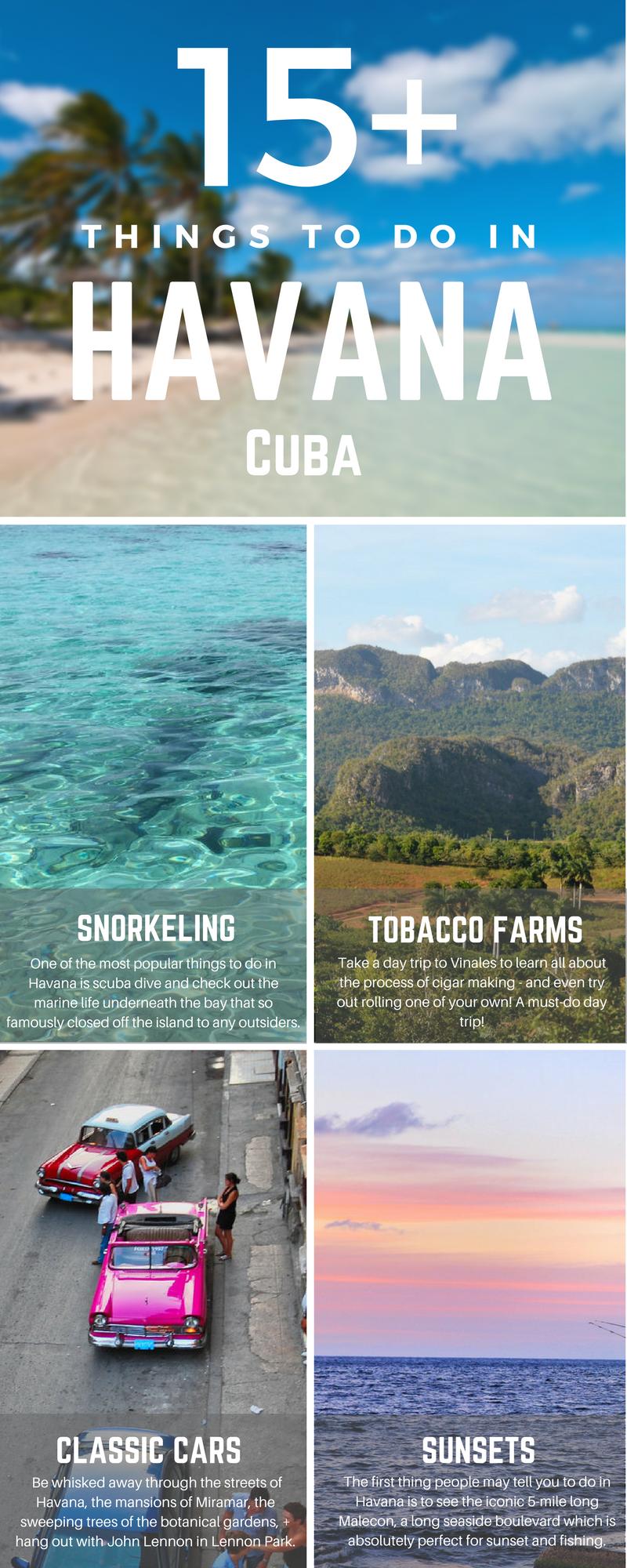 15 Best Things To Do In Havana Cuba Kuba Reisen Reisen Und Urlaub Reisen