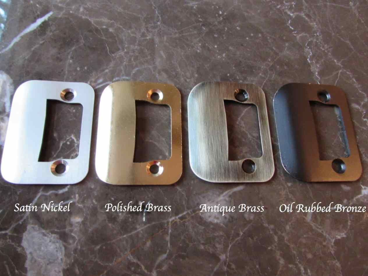 The GATOR Strike Plate is an innovative door strike plate design for  misaligned home doors that won't latch properly, and require latch repair. - Pin By Home Design Geek On Door Lock Strike Plate Pinterest