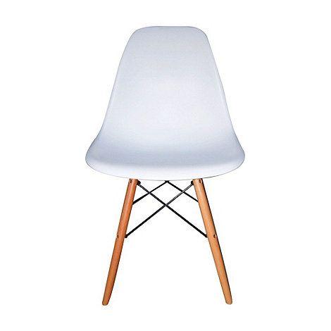 Debenhams Pair Of White Avignon Chairs At Mobile