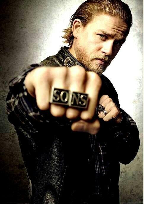 Jax Teller Charlie Hunnam Christian Grey SOA Sons of Anarchy