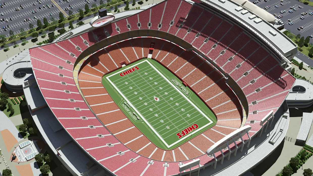 Pin By Christine On A Birds Eye View Arrowhead Stadium Seating Plan Kansas City Chiefs