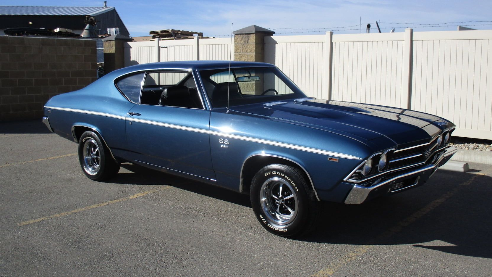 1969 Chevrolet Chevelle SS presented as Lot F80 at Las Vegas, NV ...