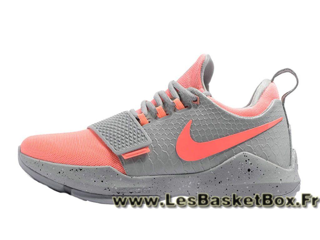 buy popular dc731 97009 Nike Air Max · Basket Nike PG 1 Gris Orange 878627 ID5 Homme Nike pas cher  Gris - 1705150843 - Le