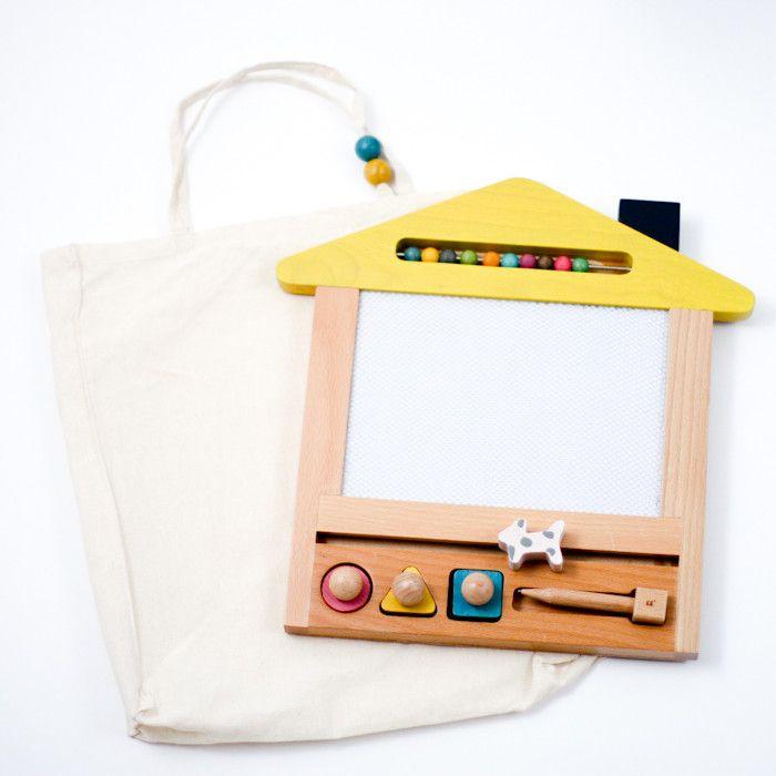 Oekaki house magic board — Sunday in color