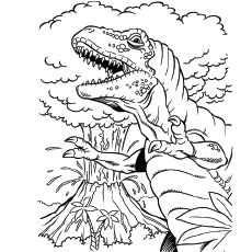 Top 10 Free Printable Volcano Coloring Pages Online Dinosaur Coloring Pages Dinosaur Coloring Dinosaur Coloring Sheets