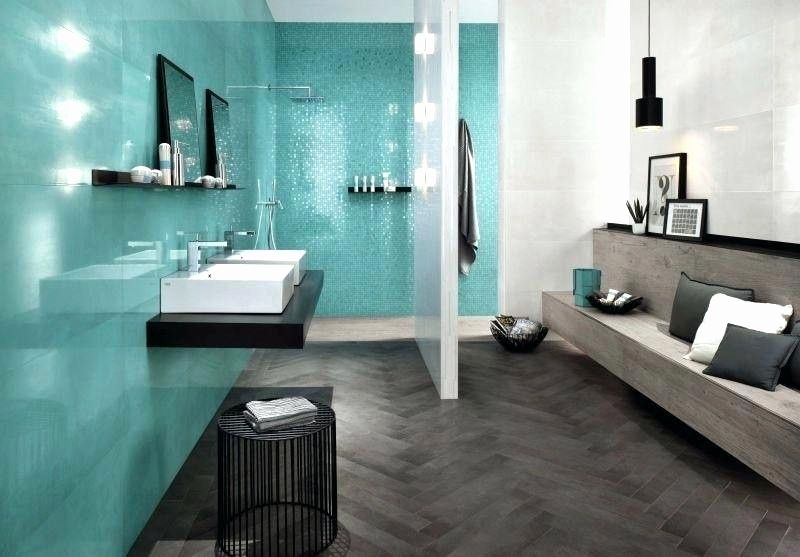 Badezimmer Dekoration Turkis Wohnung Gestalten Innenarchitektur