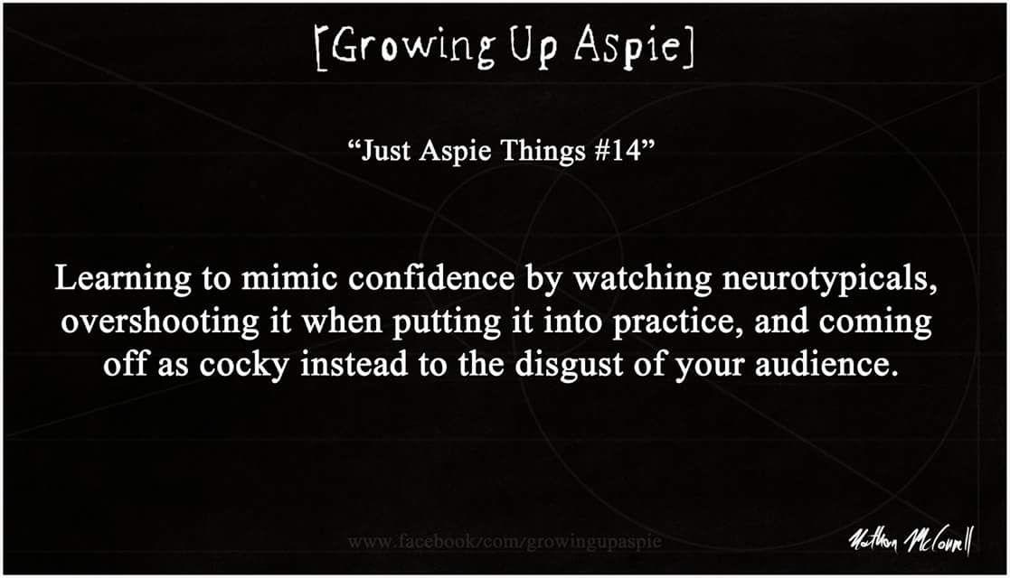"""""""Just Aspie things #14"""""""