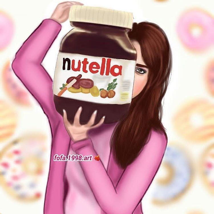 شنو لون بشرتكم اني بيضه Fashionyista صور كارتونية للحلوات منشن لصديقاتك تشوفهن معك خلفيات وصور جميلة في الست Nutella Lettering Lunch Box