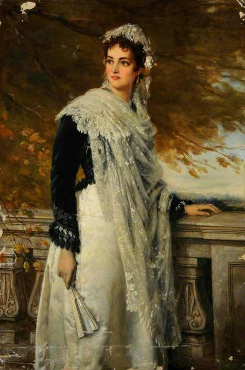 A Spanish Lady - William Oliver - Sheffield City Art Gallerie A