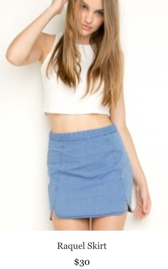 0704e92f6a BRANDY MELVILLE denim skirt | shorts & skirts | Skirts, Brandy ...