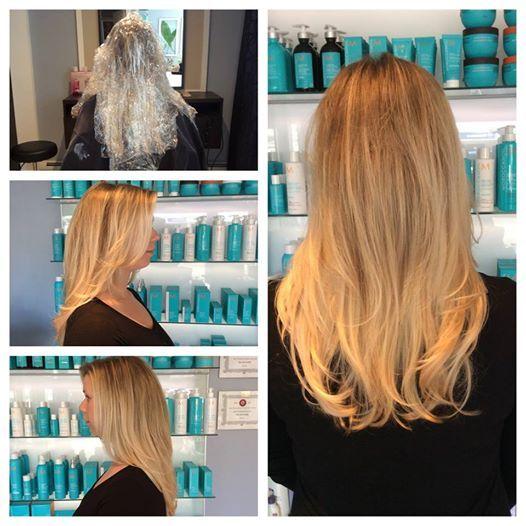 Gorgeous Blonde Hair Painting by Senior Stylist Jen Britagna
