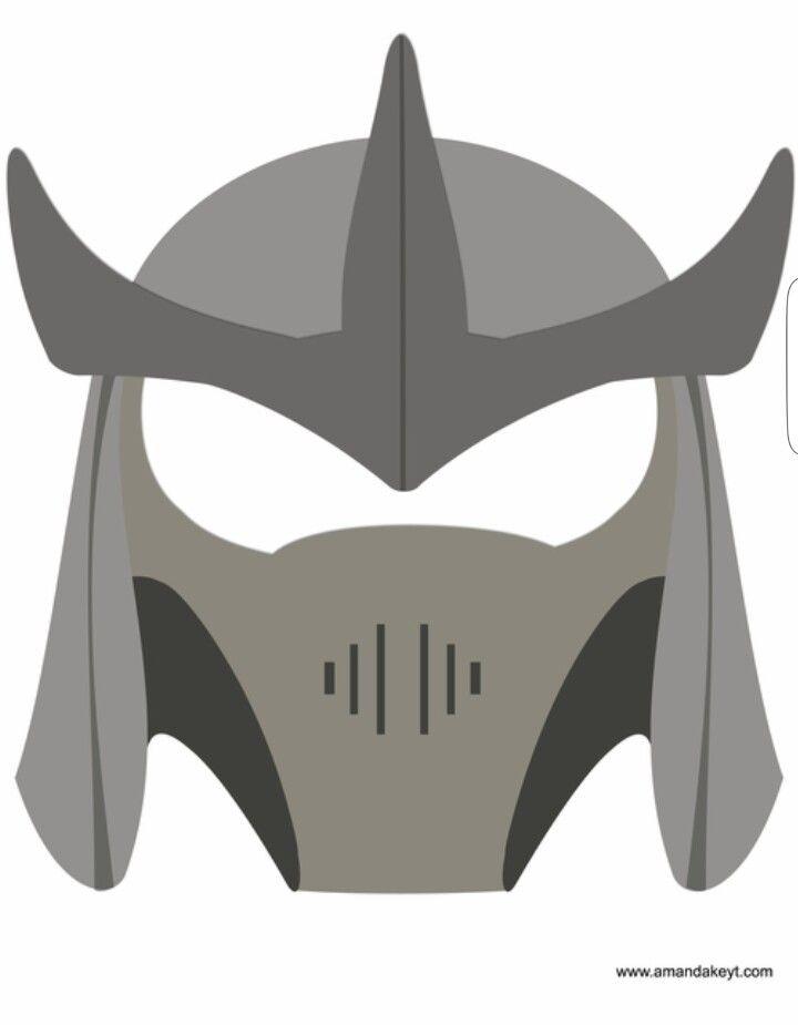 Shredder Mask Ninja Turtles Ninja Turtle Party Tmnt