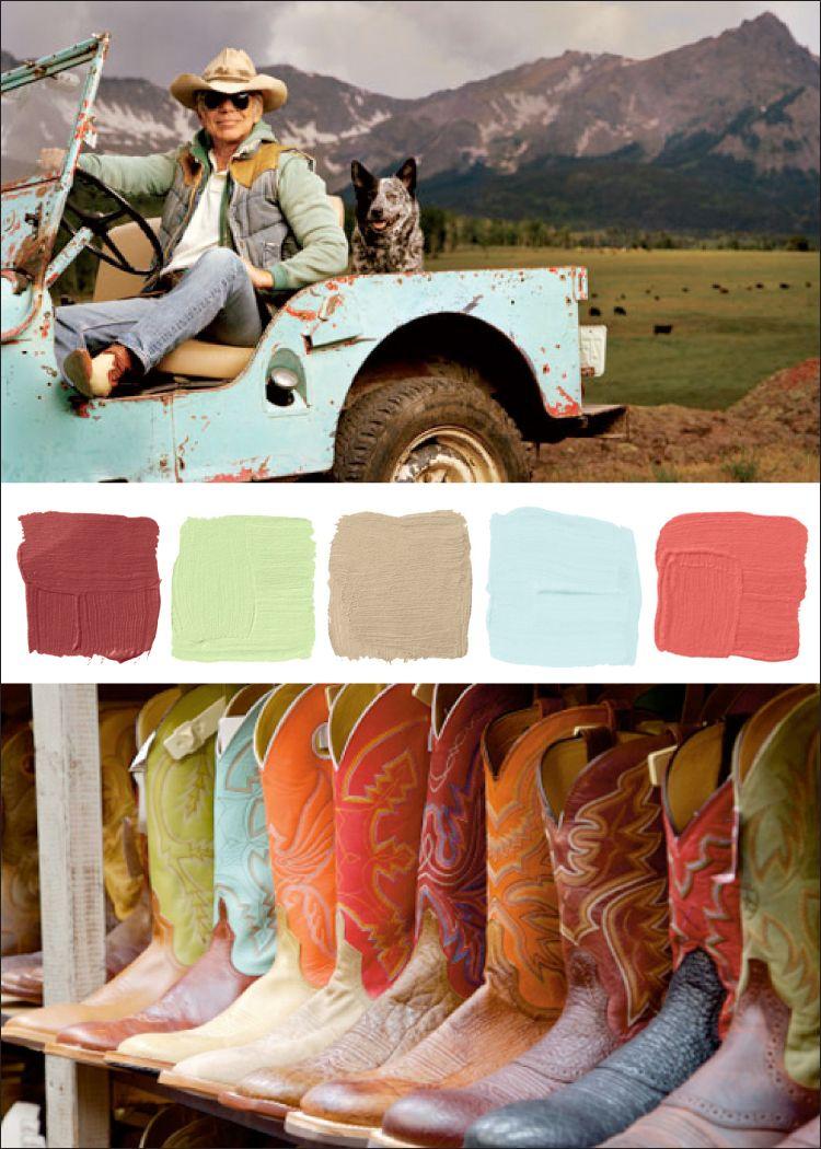 Southwest colours color inspirations pinterest for Southwest desert color palette