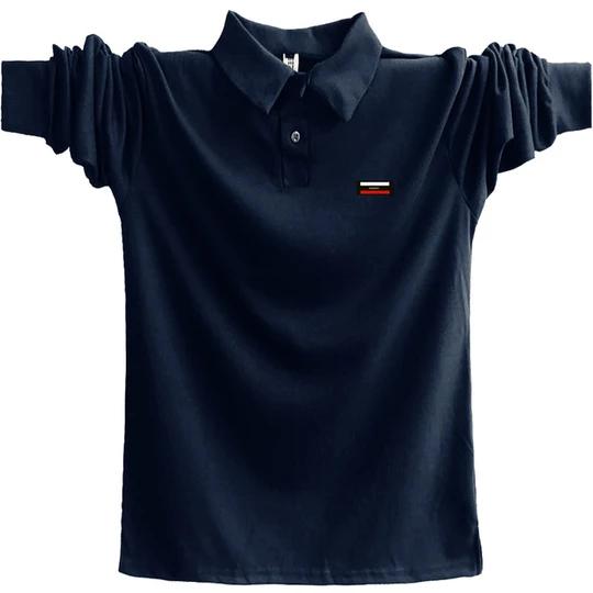 5XL Polo Shirt Men 2018 Big Size 3XL 4XL Autumn Winter Brand Fit ...