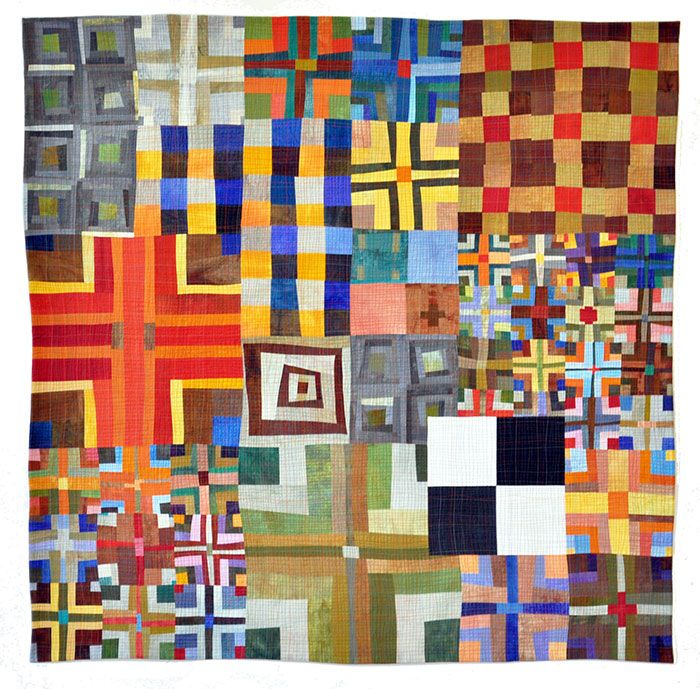 Eleanor McCain - Art Quilts: Galleries - Nine Patch/Color Series ... : quilt photos galleries - Adamdwight.com
