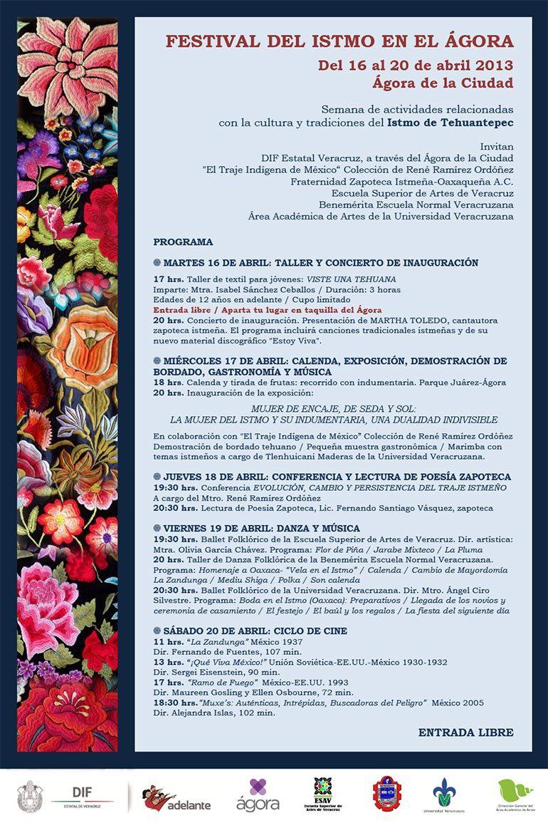 Festival del Istmo en el Ágora | Costura y bordado