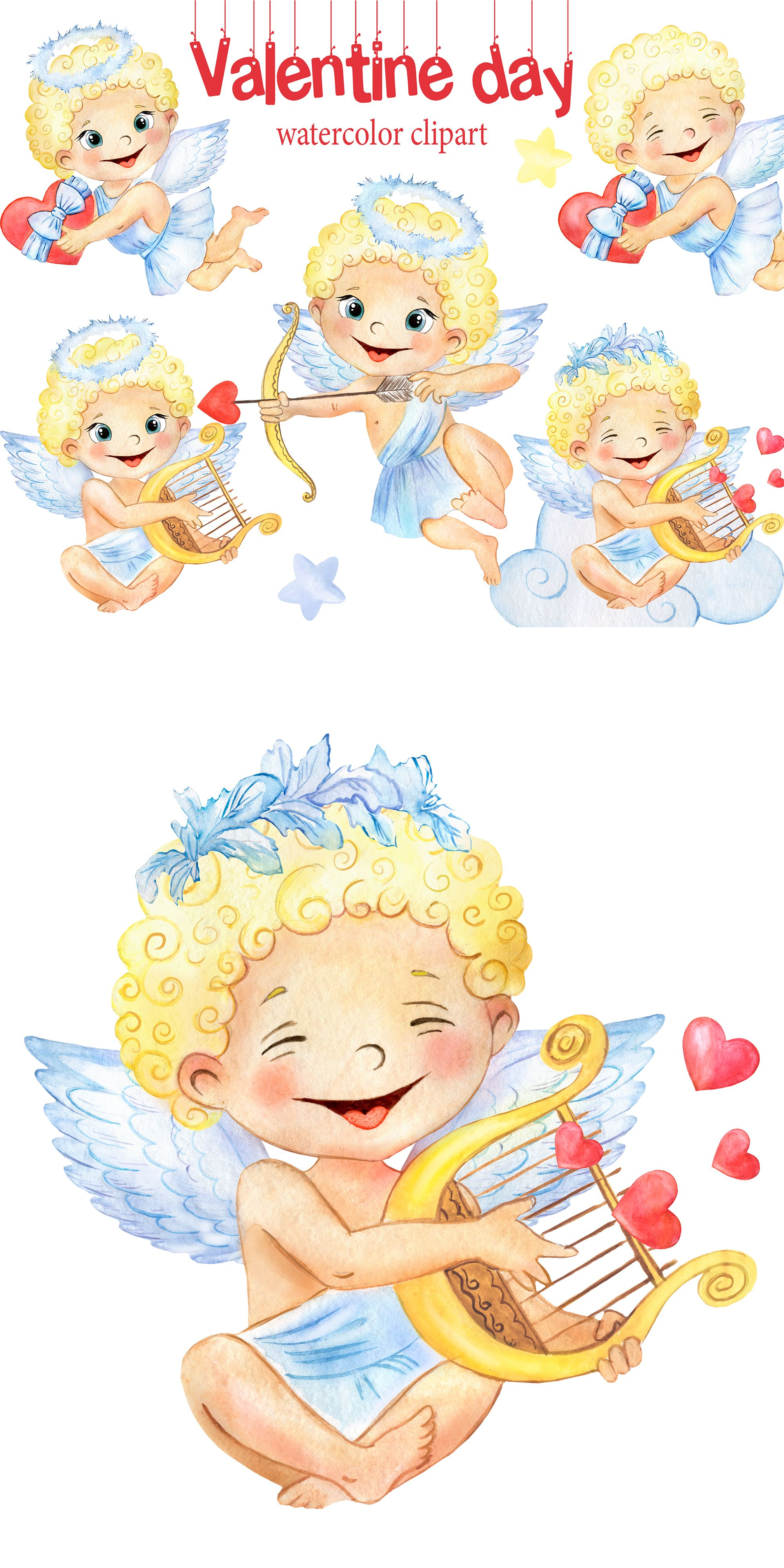 Watercolor Cupid Clipart Valentines Day Cupid Png Baby Etsy In 2021 Happy Valentines Day Clipart Valentines Day Clipart Watercolor Valentines