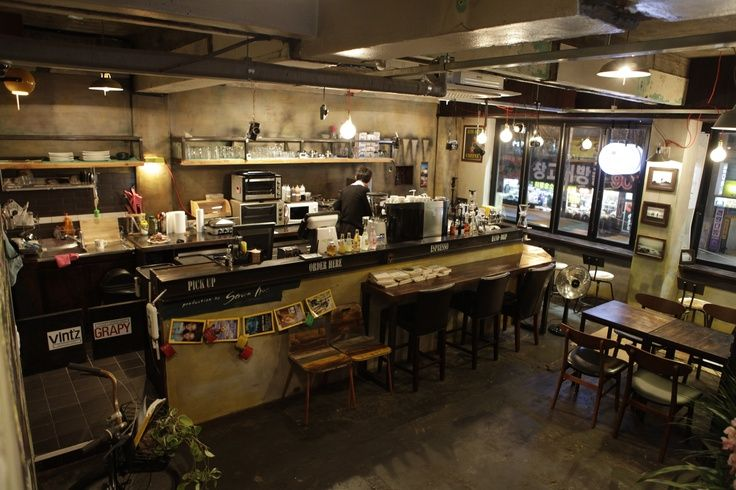 industrial cafe Google Search v Pinterest Industrial cafe