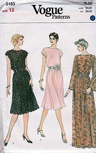 75ccade9bda2 Pin by New Vintage Studio on Womens' 1980's Sewing Patterns in 2019 | Vogue  sewing patterns, Vintage sewing patterns, Sewing patterns