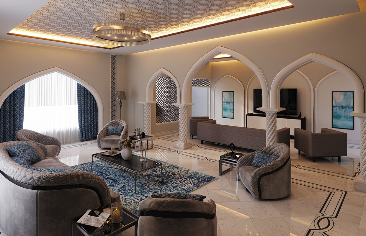 Modern Islamic Home Interior Design Muscat Oman With Images
