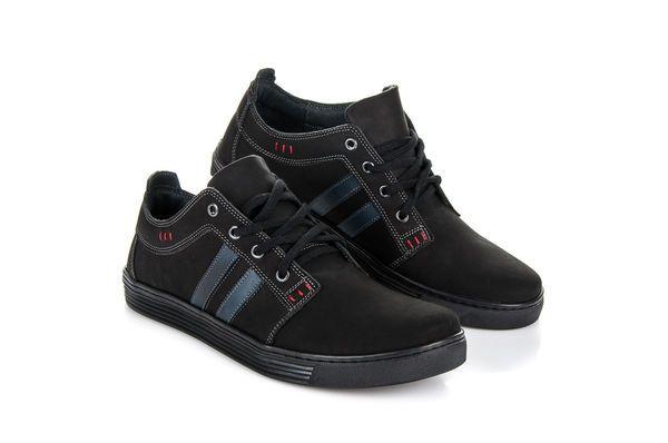 Pozostale Sportowe Meskie Lucca Czarne Skorzane Trampki Lucca Adidas Sneakers Shoes Adidas