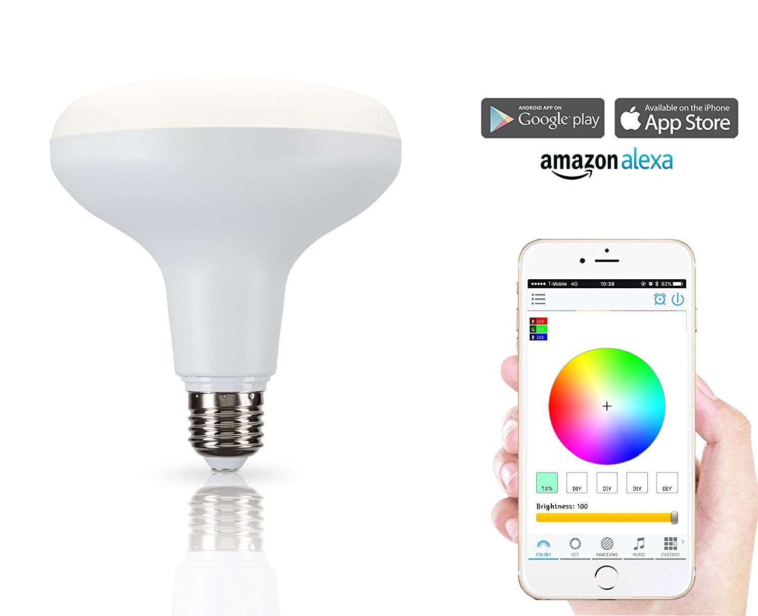 How To Change Recessed Light Bulb Colorful Led Light Bulb White & Color Changing Recessed Led