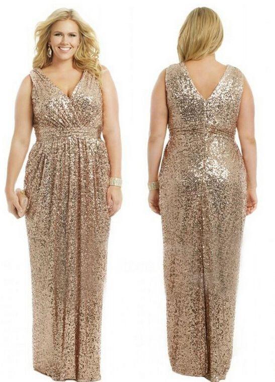 Gold Sequins Plus Size Bridesmaid Dresses Gold Plus Size Bridesmaid Dresses Elegant Bri Sequin Bridesmaid Dresses Sparkle Prom Dress Gold Bridesmaid Dresses