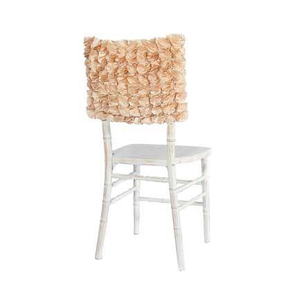 Gold Petal Chair Back Linen Effects Minneapolis Mn Chairs