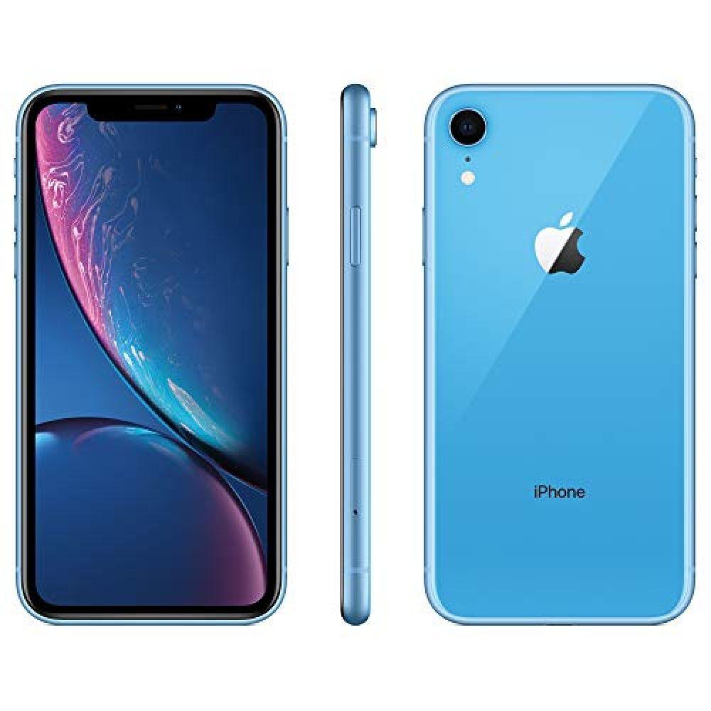 Apple iphone xr att 128gb blue renewed ediginext