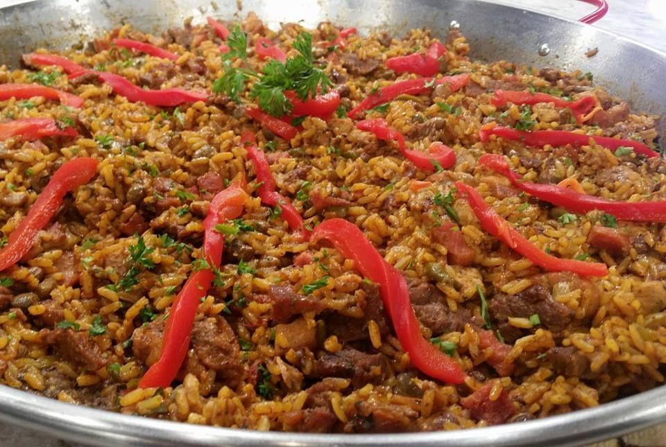Paella navide a chef edgardo noel arroces paella - Cocina navidena espanola ...