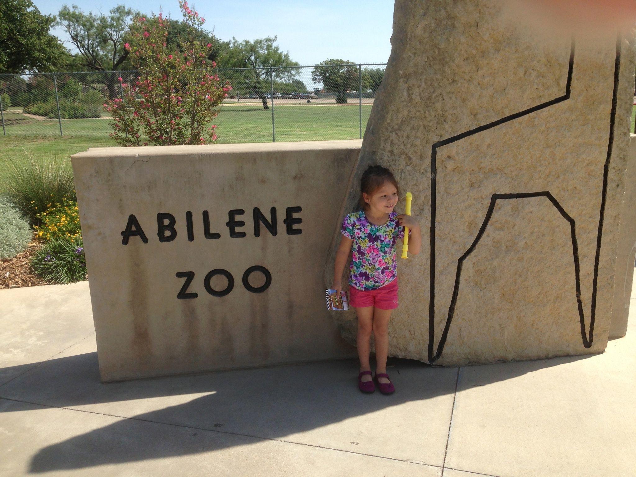 Abilene Zoo Sign Abilene Zoo Zoo Amusement Park