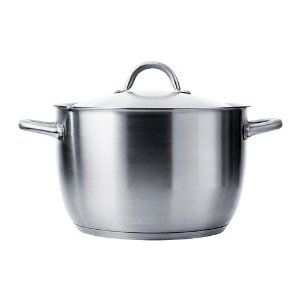 IKEA   IKEA 365+ Stock Pot With Lid, Stainless Steel By IKEA. $57.95