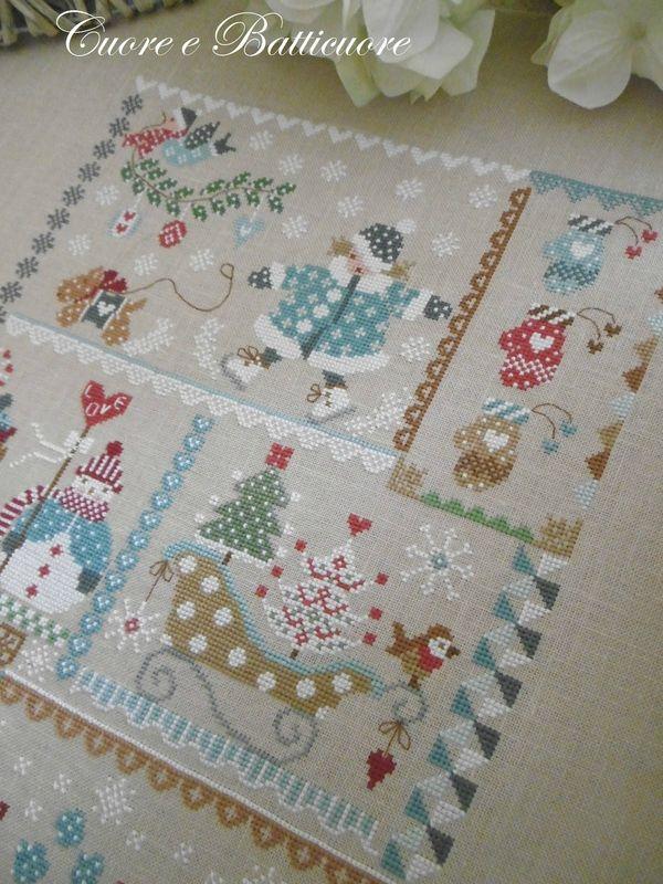 Sal winter in quilt