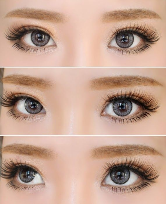 How To Apply Lower Lashes To Give An Illusion Of Larger Eyes Monolid Makeup Zibees Com Fashion Guilt Monolid Makeup Face Makeup Tutorial Lower Lashes