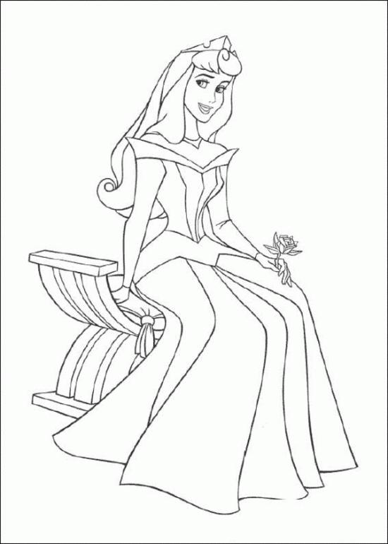 Asombroso Princesa Aurora Para Imprimir Para Colorear Imágenes ...