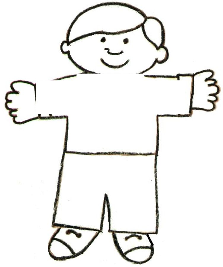 Flat Stanley Template and Letter Craft Pinterest