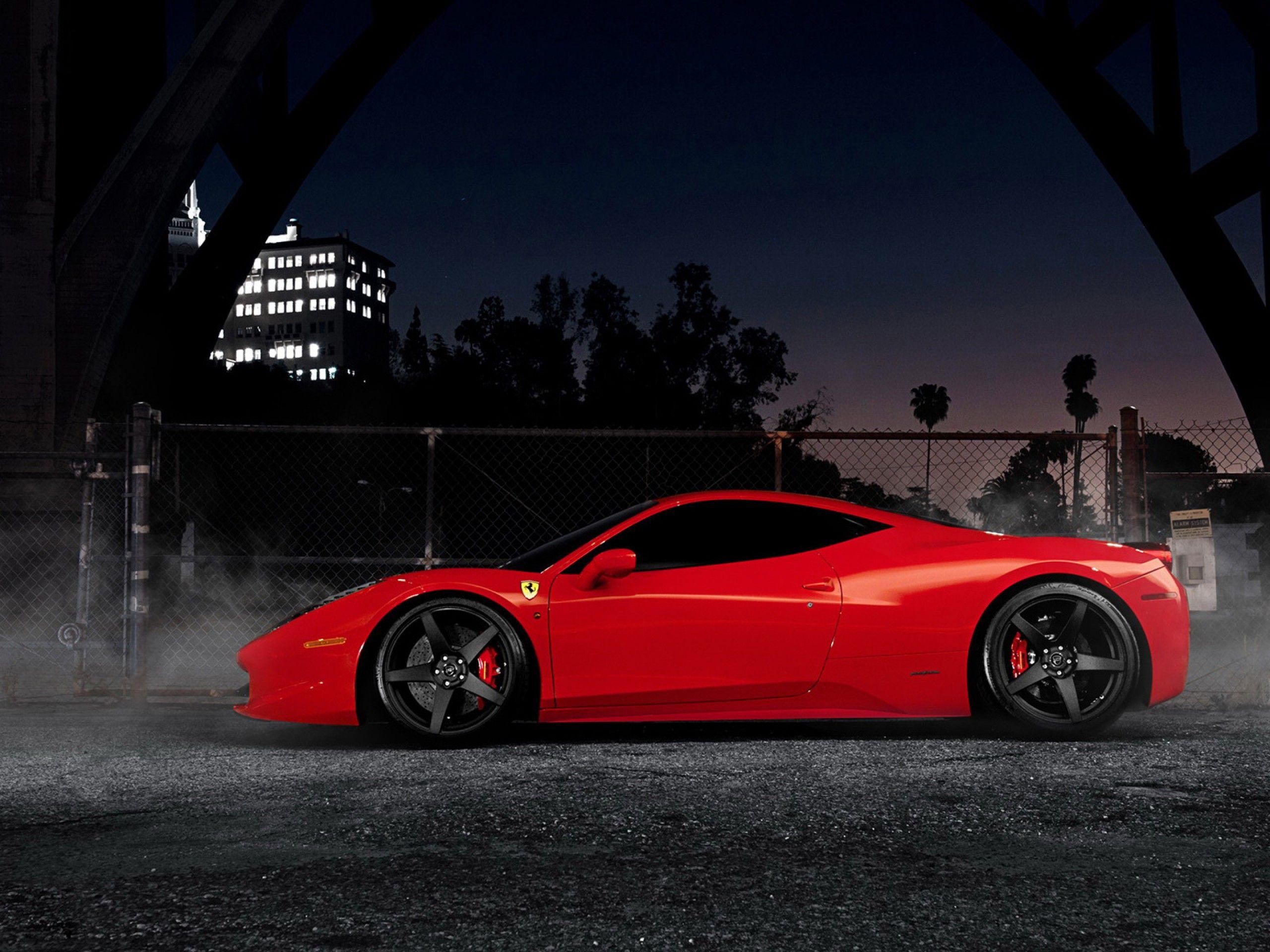 Red Ferrari 458 Spider Wallpaper Side View Coole Auto S Ferrari Auto S