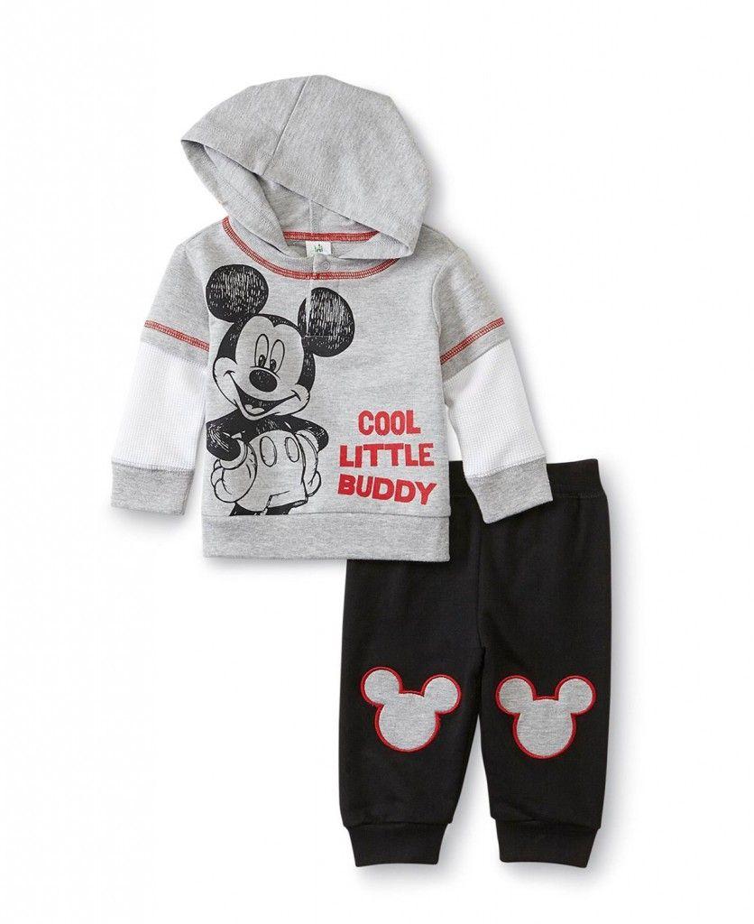 d6d782622 Disney Baby Hoodies Mickey Mouse Sweatpants Set | Visiting Grandma ...