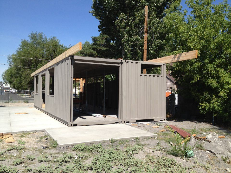 Container Homes 2x 40ft Shipping Home Sarah House Project Glendale