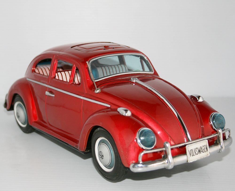 Volkswagen Beetle Kingsize Bandai 60s Vintage Toys For Sale Corgi Toys Tin Toys