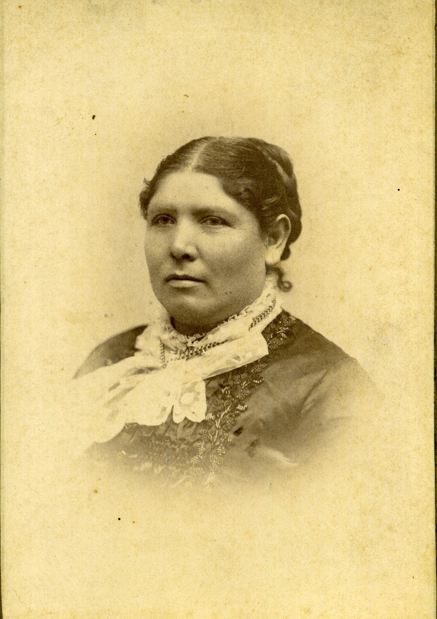 Portrait Photograph Of Choctaw Susan Folsom Byrd Wife Of