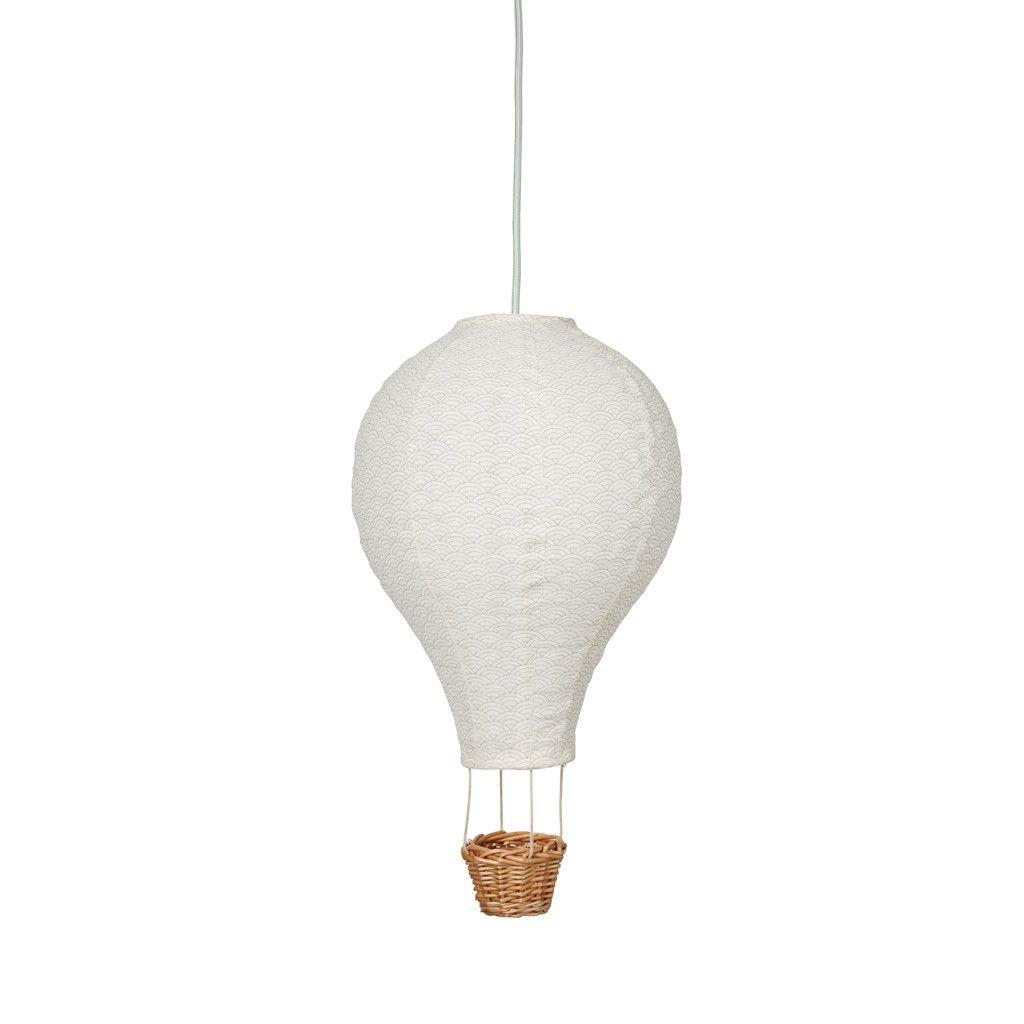 LAMPE CAM CAM LUFTBALLONG (MINT) | Lamper, Barnerom, Bambus